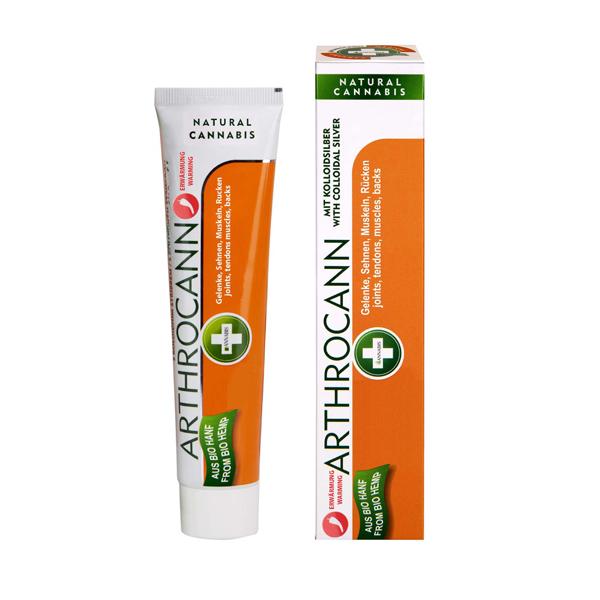 Arthrocann Gel cu efect de incalzire - 75 ml