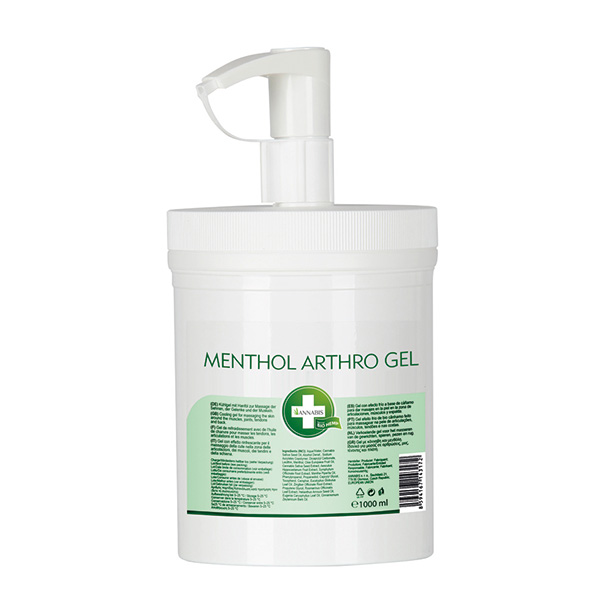 Menthol Arthro Cooling Gel 1000 ml