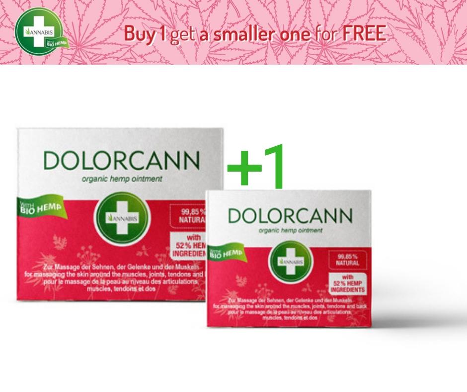Dolorcann Organic Mare + Mic GRATUIT