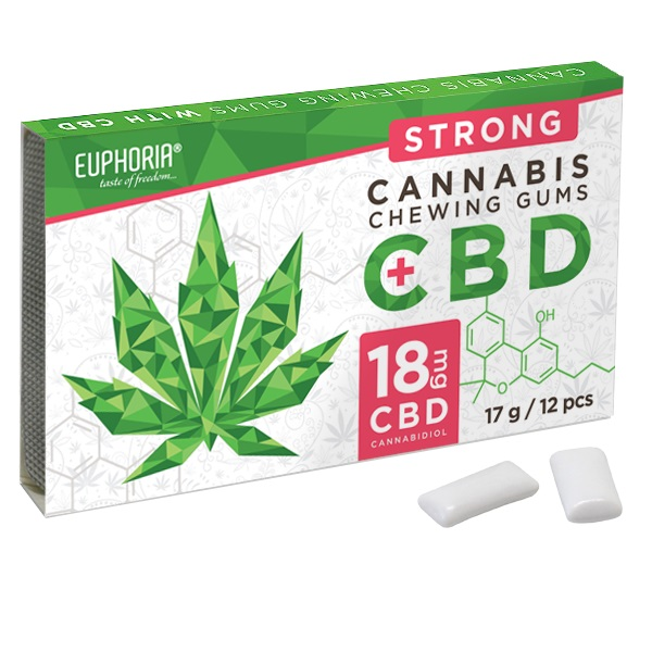 CBD Chewing Gums 17g