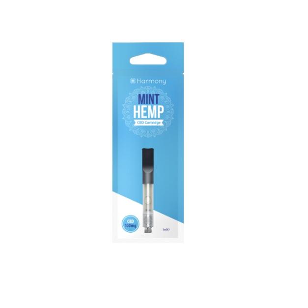 CBD Pen Cartridge  - Mint Hemp Cartus 1ml