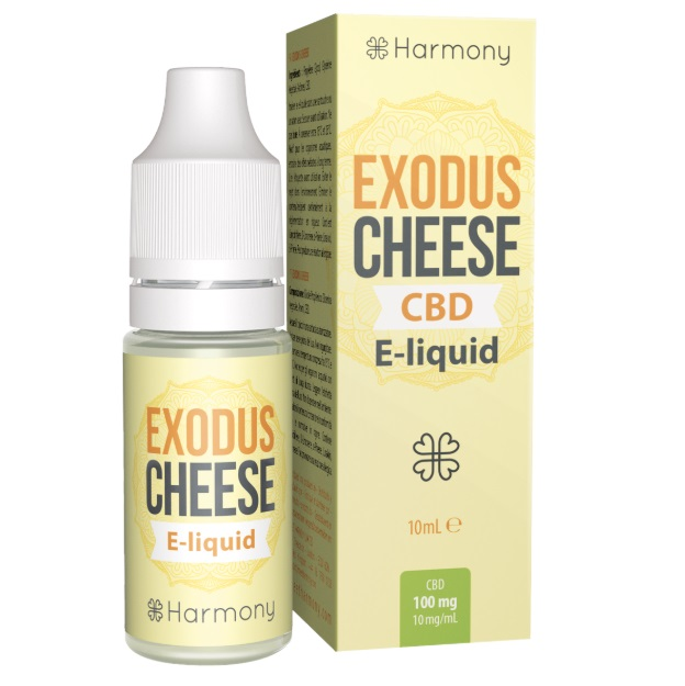 CBD e-liquid - Exodus Cheese 10ml (Harmony)