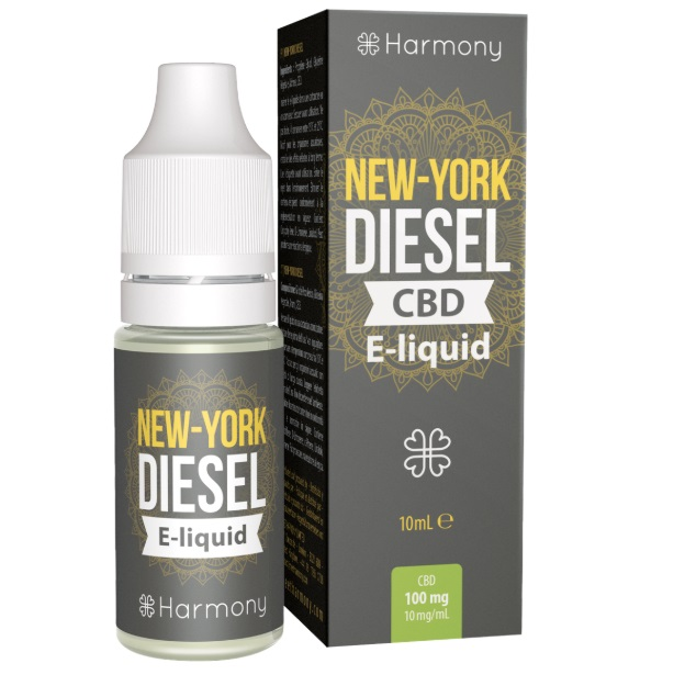 CBD e-liquid - New York Diesel 10ml (Harmony)