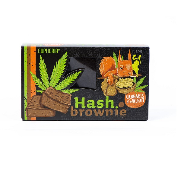 Hash Brownie Cannabis & Walnut 50 g