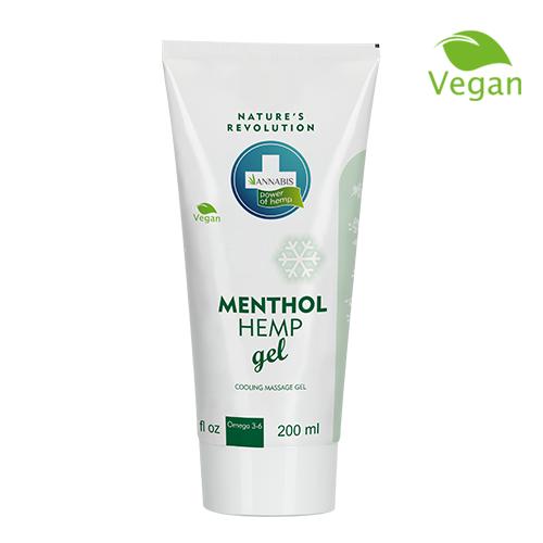 Menthol Hemp Gel - 200 ml