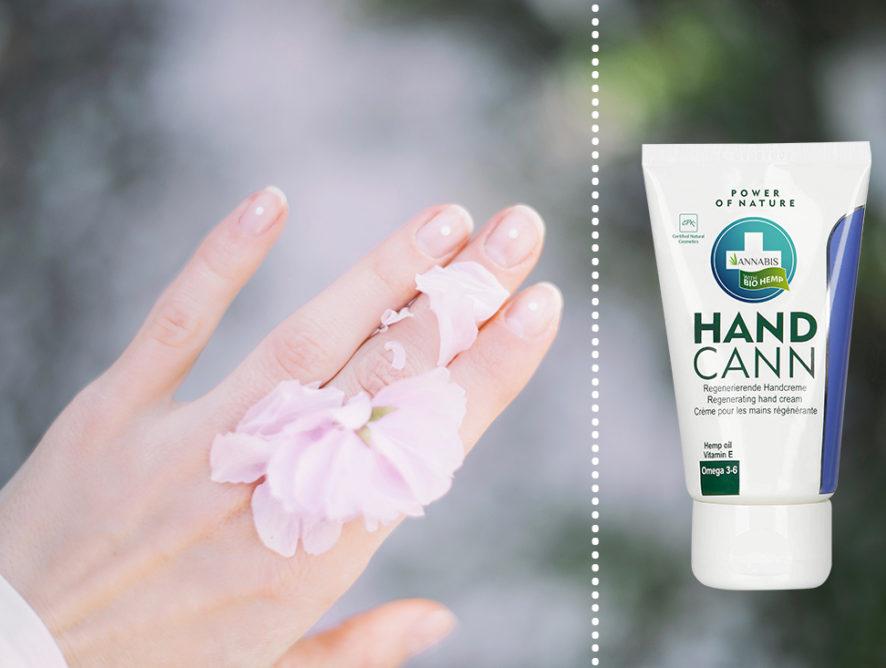 Handcann, crema de mâini naturală din fiecare poşetă